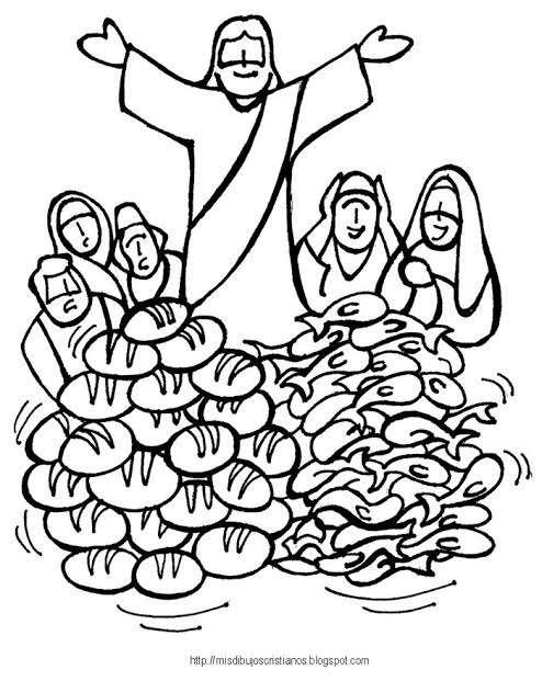 Rozmnażanie bochenków i ryb - Zagadka rozmnożenia chleba i ryb przez Jezusa (5×6)