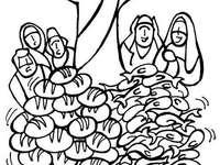 Умножение на хлябове и риби