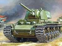 Tanque de guerra - Formar o tanque de guerra