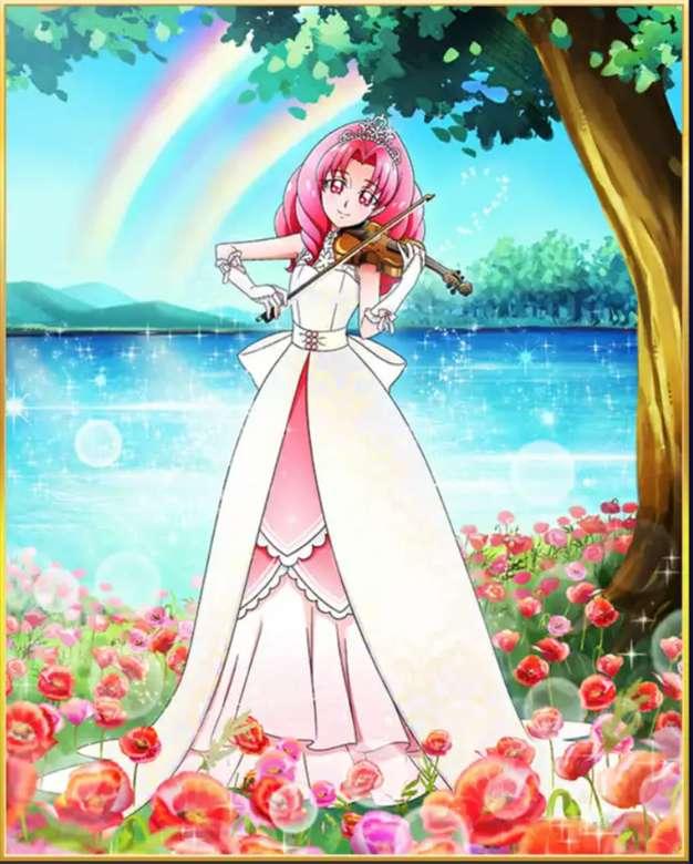 Princesse Akagi Towa - Salut aujourd'hui, je vais vous montrer un puzzle c'est guérir la princesse écarlate. J'espère que vous l'aimez.Merci (6×7)
