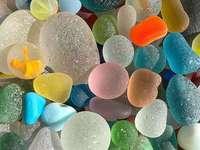 glass beach - glass beach - beautiful nature