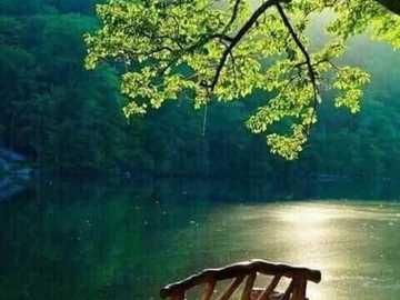 spokojne miejsce - ciche miejsce - spokojne miejsce nad rzeką