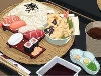 Ein köstliches japanisches Essen