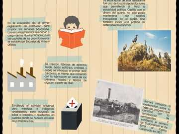 1 ° GOVERNO DI RAMÓN CASTILLA - Scopriamo un mondo di storia peruviana.