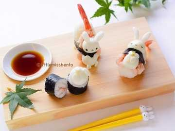 Too cute sushi - Tasty and cute sushi