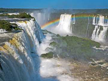 Iguaçu Falls - Iguaçu Falls, Parana River, Brazil