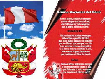 NATIONALE SYMBOLEN VAN PERU - Identificeer nationale symbolen.
