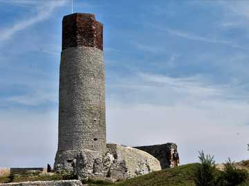 zamki jurajskie - zamek oltsztyn na jurze