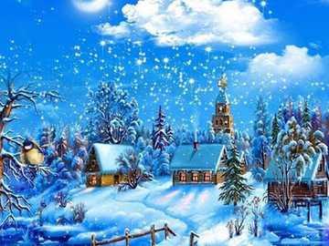 WINTER LANDSCAPE - Nice winter landscape.