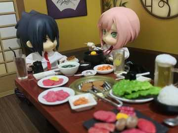 Sasuke and Sakura have a romantic dinner - Sasuke and Sakura have a romantic dinner
