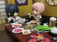 Sasuke a Sakura mají romantickou večeři