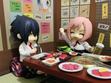 Sasuke and Sakura have a romantic dinner 2 - Sasuke and Sakura have a romantic dinner 2