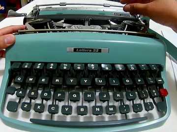 typewriter - the typewriter was a good tool for secretaries