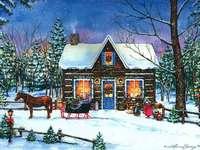 Karácsonyi táj