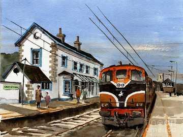Greystones Railway Station - greystones-railway-station-val-byrne
