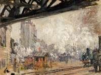 La Gare Saint-Lazare_vue extérieure