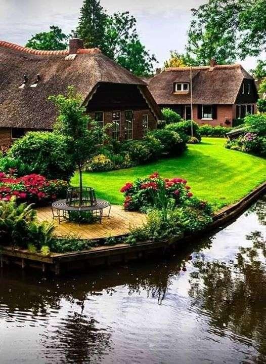 In Nederland - Giethoorn. Nederland (9×12)