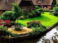 Na Holanda.
