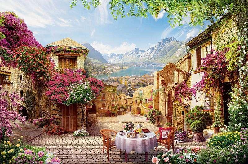 Un beau puzzle - Puzzle de paysage (12×8)