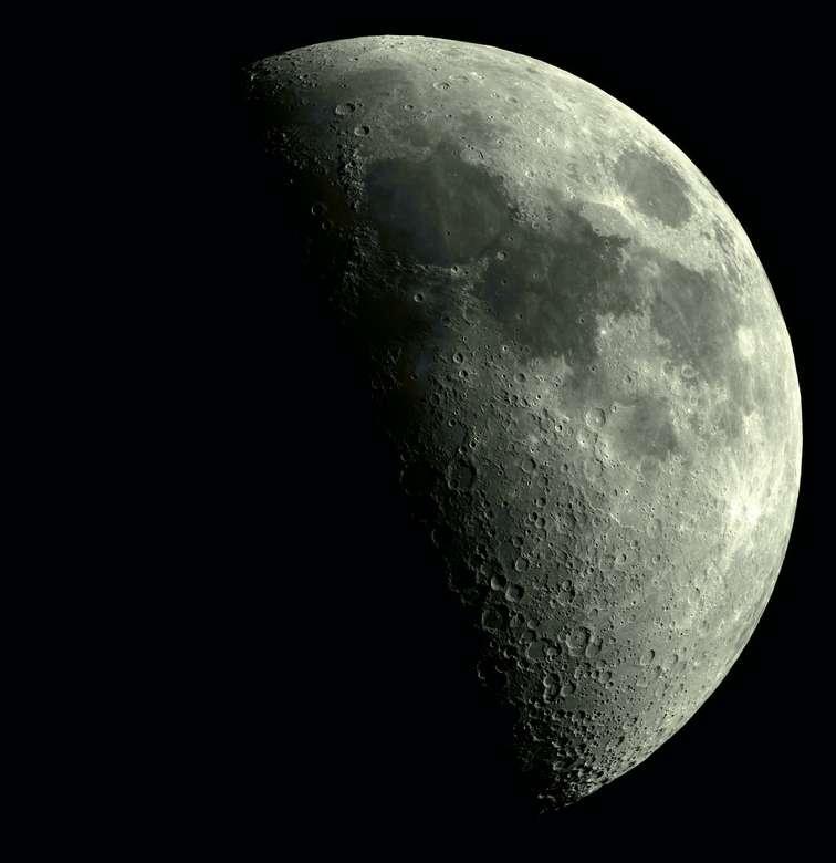 šedá planeta - 50% voskování měsíc - 5/11/2019 (14×15)
