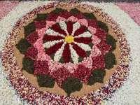 Tapete de flores - Corpus Christi em Sitges e tapetes de flores