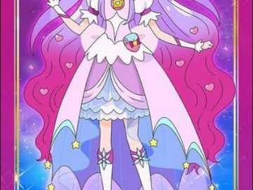 Cure selene - Hi today I will show you an puzzle. it is cure selene Capricorn princess form .hope you will like it
