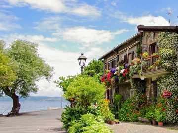 Italian Lazio Vacation - Anguillara - Bracciano lake