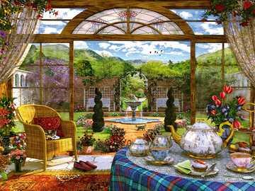 Orangerie. - Puzzle. Orangerie.