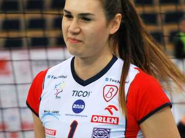 Sylwia Pelc - Sylwia Pelc (born November 30, 1990 in Krzemienica) - Polish volleyball player playing in the middle