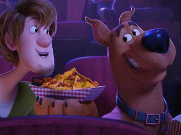 SCOOBY DOO - Scooby Doo IN THE FOOD CINEMA