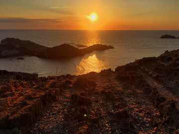 wonderful sunrise - Costa Brava, Cap Creus, pure nature