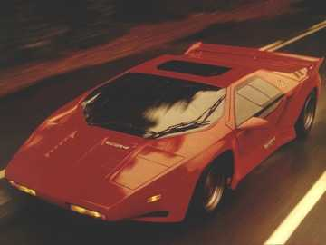 Vector W8 - This Is A Photo Of American Sportscar Which Was In Production From 1989 To 1993