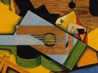 Kubisme puzzel - kubisme illustraties