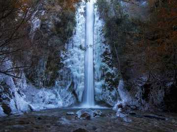 Cascade gelée, San Carlos de Bariloche - Cascade gelée, San Carlos de Bariloche