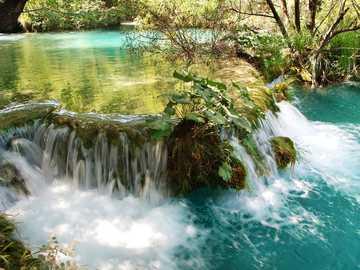 Parque Nacional de los Lagos; Croacia - Parque Nacional de los Lagos; Croacia