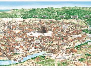 średniowieczne miasto - ekspansja średniowieczna i urbanistyczna
