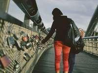 Pont des amoureux à Cracovie