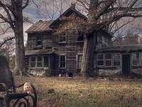 Casa, fazenda abandonada - Casa, fazenda abandonada