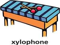 x jest dla ksylofonu