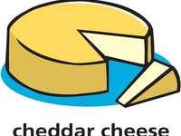 c oznacza ser cheddar