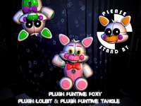 Casse-tête Funtime Foxy Peluches