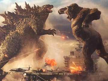 Godzilla Vs Kong Juegos Gratis Online En Puzzle Factory