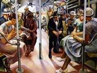 """""""Le métro"""" (1934)"""