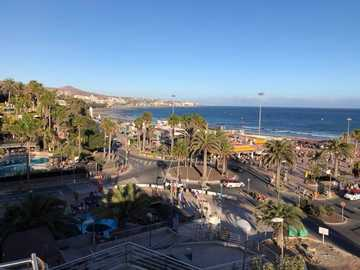 Playa del Ingles - in the middle of the holiday area