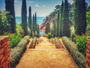 Beautifully designed Blanes Botanical Garden - Blanes Botanical Garden