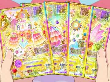 偶像 活動 卡 -Daylight Festival Coord - 來自 Sexy 品牌 Romantik Kuss 的 ik 高級 稀有 ik ik Aikatsu 系統 認證 , 獲得 海王�