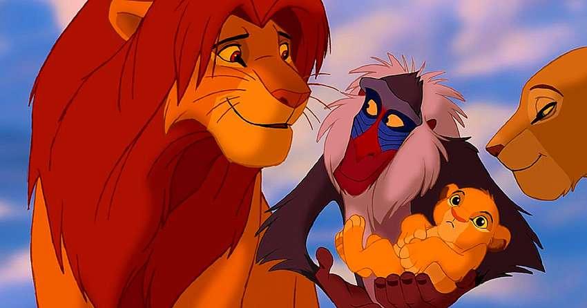 """LEJONKUNGEN - Kult sagan """"The Lion King"""" är tillbaka! De kända (7×4)"""