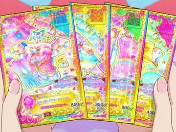 Ain 活動 卡 -Rainbow Étoile Coord - 來自 Niedliches 品牌 Regenbogen-Beeren-Parfait ik ik ik ik ik ik ik Aikatsu