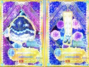 Etta 活動 卡 -Rosetta Thorn Coord - 來自 Cool 品牌 Gothic Victoria ik ik ik ik ik ik Aikatsu 系統 認證 認證 獲得 冥王星 �