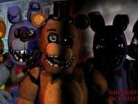 Unwithered And Withered Animatronics